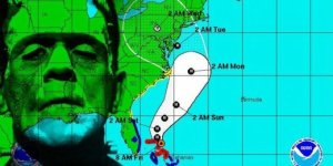 Sandy, Frankenstorm, hurricane, Halloween, costume, trick or treat, parents, funny