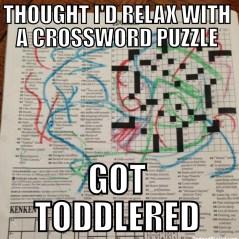 toddlered, toddlers, parenting, dads, moms, kids, children, memes, funny, humor, got toddlered, fatherhood, children, home