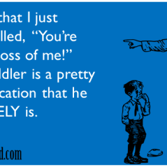 e-card, parent excuse, doubt of control, dad blogger, who's the boss, dad and buried, funny, toddlers, parenting, parents, moms, dads, children, life lifestyle, family, home, humor