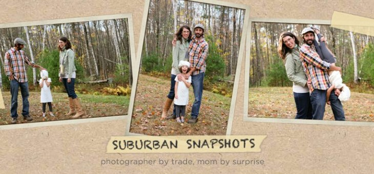 Guest Post: Suburban Snapshots and the Benefits of One