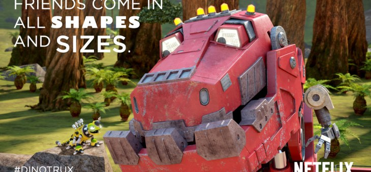 On the Dinotrux Bandwagon