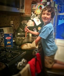 barilla, sponsored, dinner, eating, parenting, dad and buried, mike julianelle, funny, humor, back to school