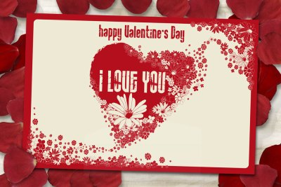 Valentine's day printable card templates