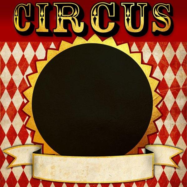 Circus Printable Photo Booth