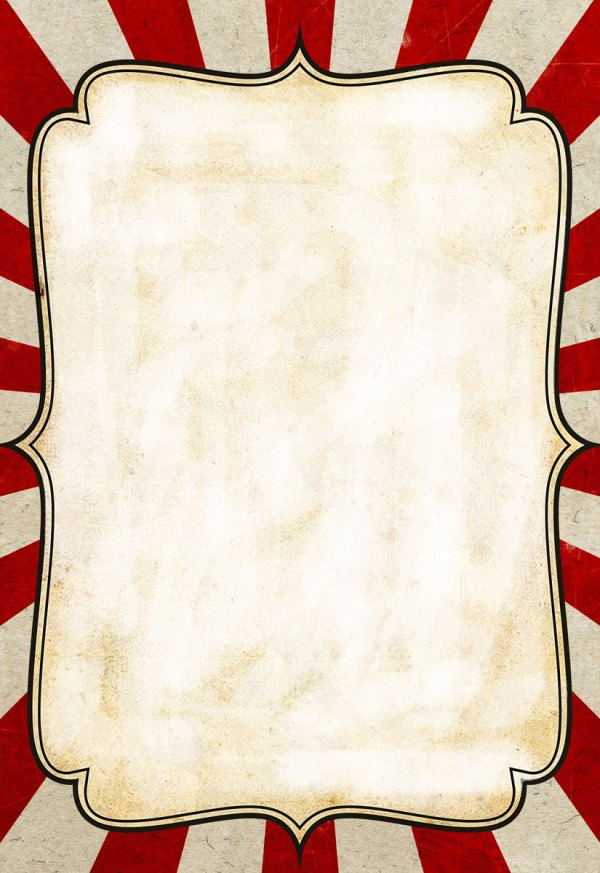 Circus Poster Background Templates