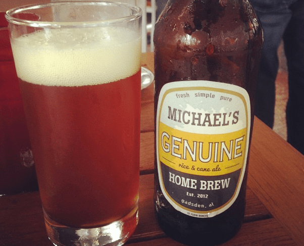 M Genuine beer