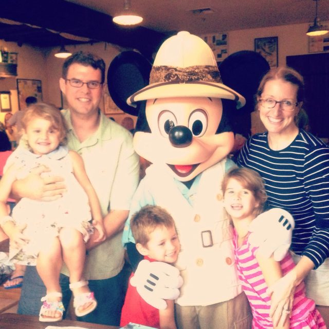 family w mickey