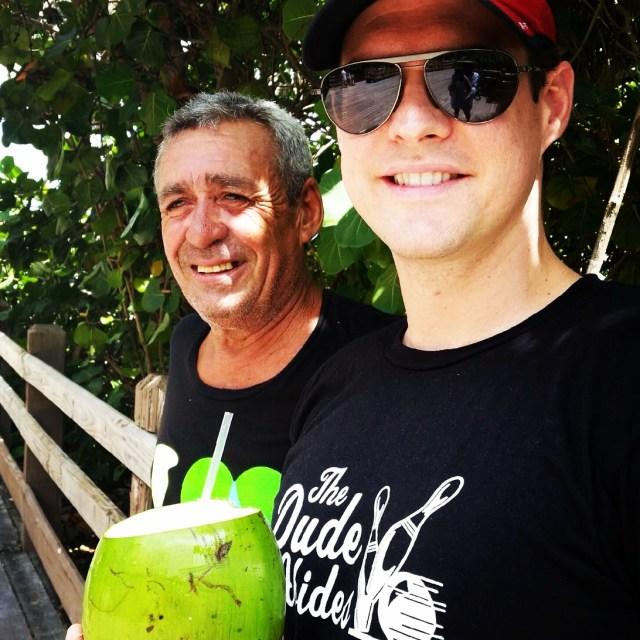 w coconut water