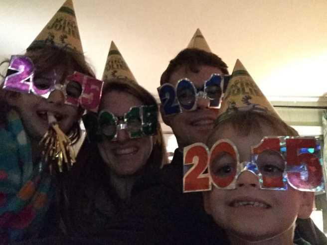 family on NYE 2014