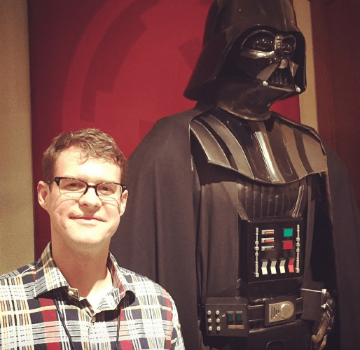 Darth and me