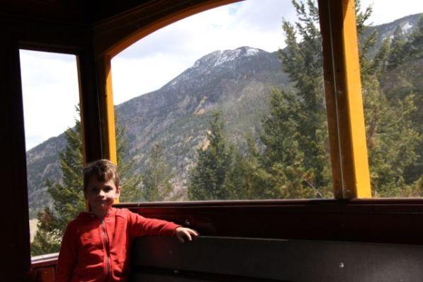O on train