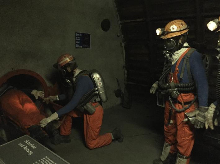 in mine exhibit