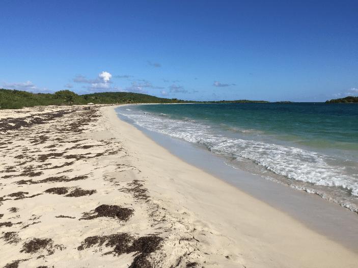 beach deserted