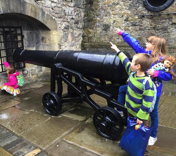 firing canon