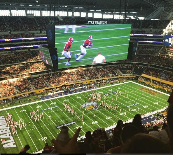 Dallas tide game