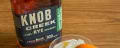 Knob Creek® Rye Whiskey Old Fashioned with Grilled Orange