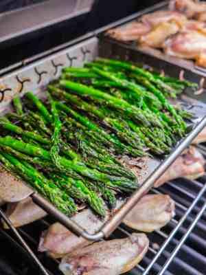 Grill Roasted Asparagus