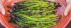 Grilled Teriyaki Asparagus