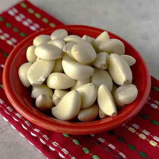 A big pile of garlic | DadCooksDinner.com