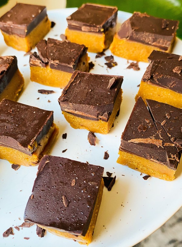 Pumpkin Spice Peanut Butter Bars