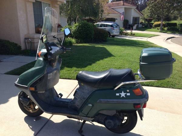 1997 Honda CH250 Scooter