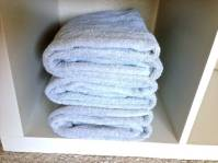 Towels are a breeze as well!