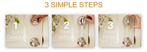 Lock Locker3 steps