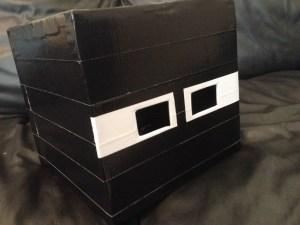 Minecraft Enderman Halloween Costume DIY Mask
