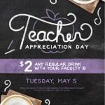 The Coffee Bean & Tea Leaf Celebrate National Teacher Appreciation Day