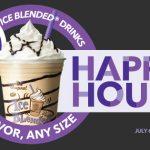 Enjoy Coffee Bean Happy Hour at The Coffee Bean & Tea Leaf! #CoffeeBeanHappyHour