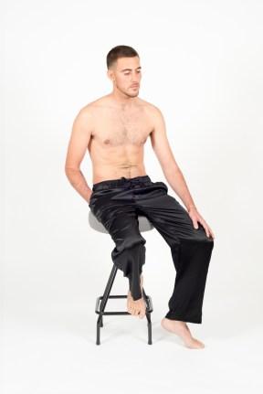 100% Silk Brando Trouser