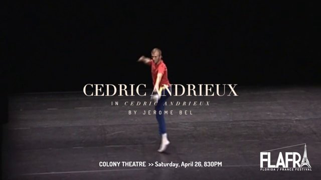 Tigertail presents Cédric Andrieux@ Theatre