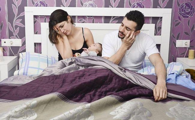 sleep-deprivation Как справится с отсутствием сна, когда дома младенец.