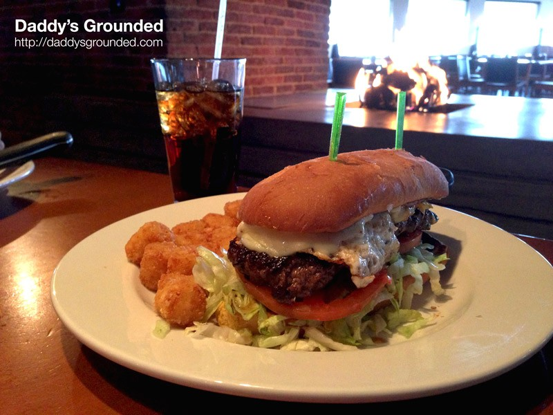 'The Gun Show Burger' at The Brick House Tavern & Tap in Downers Grove, IL