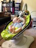 Daddy's Grounded - 4moms mamaRoo - Touch