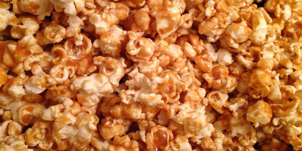 Homemade Caramel Corn Tasty Goodness