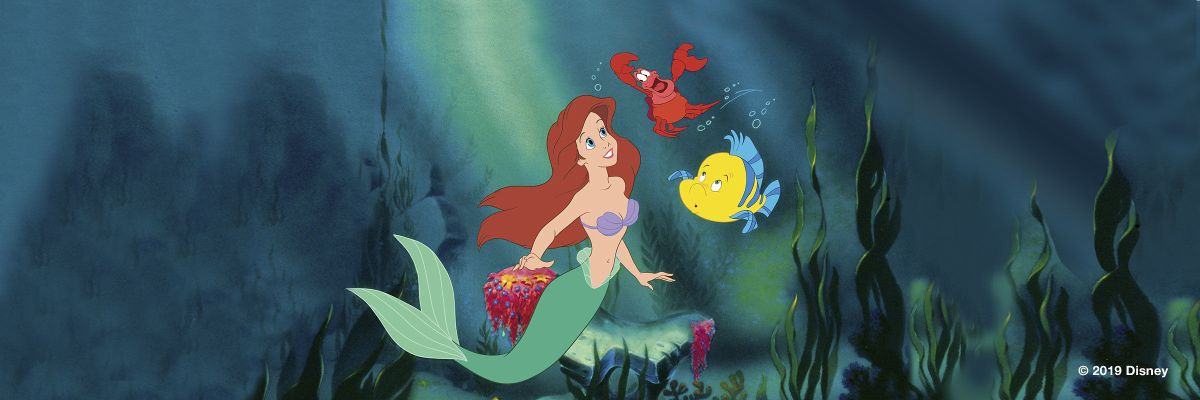 "Disney's ""The Little Mermaid"" is Now Available on Digital, 4K Ultra HD, and Movies Anywhere. On Blu-ray Soon."