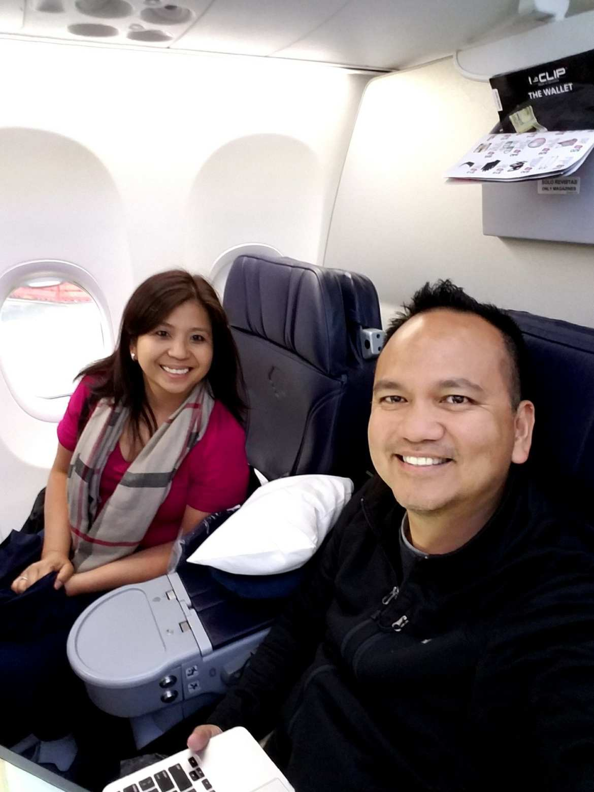 How we booked 2 Roundtrip Business Class seats to Peru using points