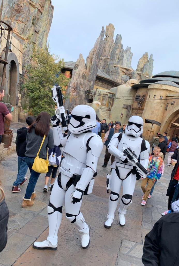 Disneyland Star Wars Rise of the Resistance