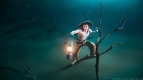 VonWong's Underwater Fisherman