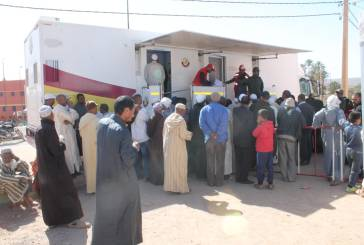 قافلة طبية متعددة التخصصات تشرع في تقديم خدماتها لساكنة جماعات حوض المعيدر بإقليم زاكورة