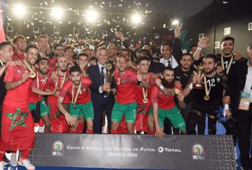 المنتخب الوطني المغربي للفوتسال بطلا لإفريقيا للمرة الثانية على حساب نفس المنافس منتخب مصر الشقيق