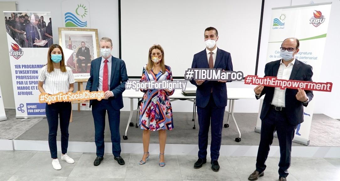 شراكة بين جمعية تيبو المغرب و ليدك لتشجيع الابتكار الاجتماعي بواسطة الرياضة