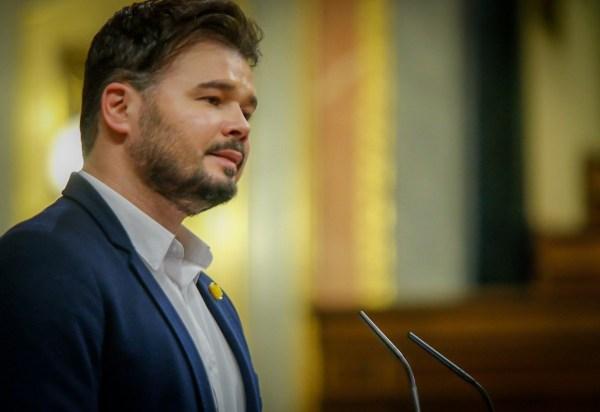 Gabriel Rufián, aquest dimecres al Congrés dels Diputats | Congrés