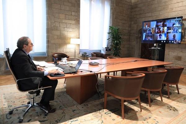 Reunió telemàtica del consell executiu del 26 de maig del 2020. | Govern