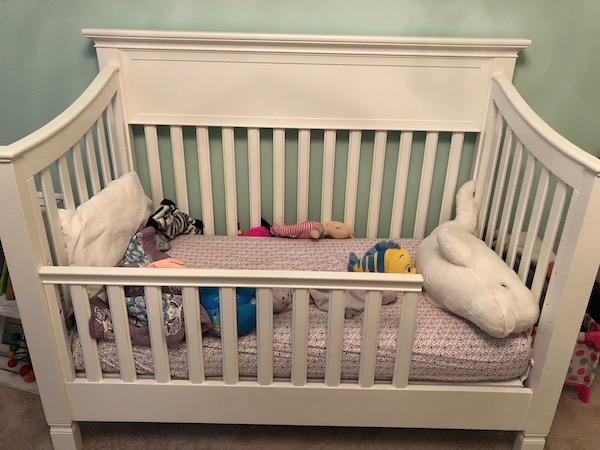 Toddler bed example