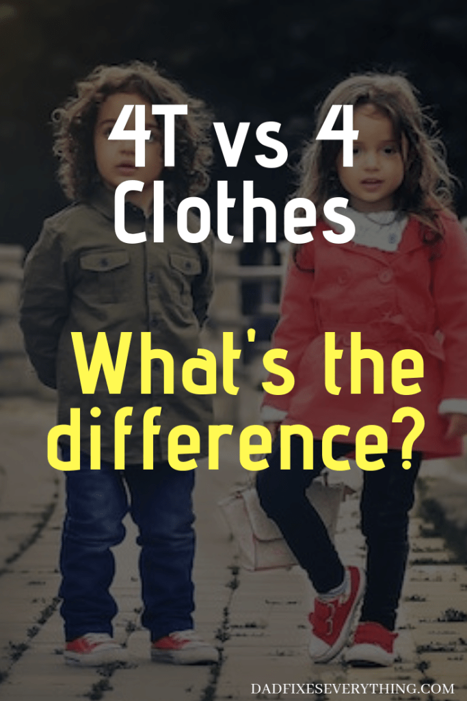 4T vs 4 Kids' Clothes: What's the Difference? (Explained)