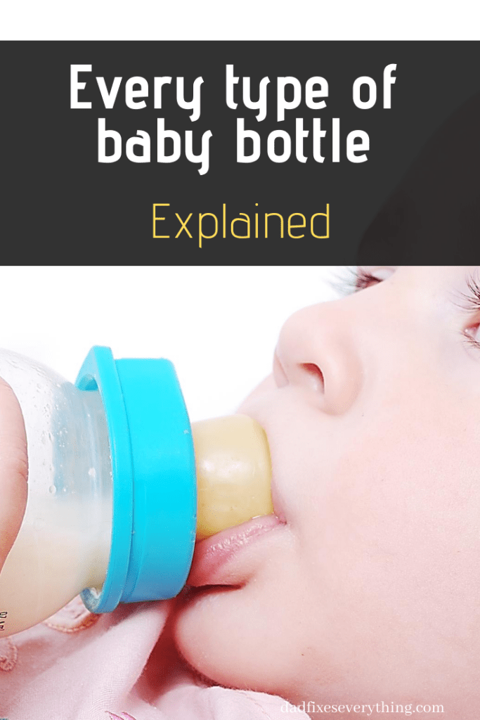 Every Type of Baby Bottle Explained (Material, Size, Shape & More)