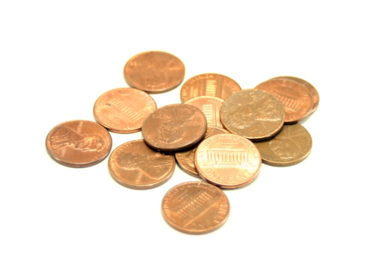 Pennies for show and tell