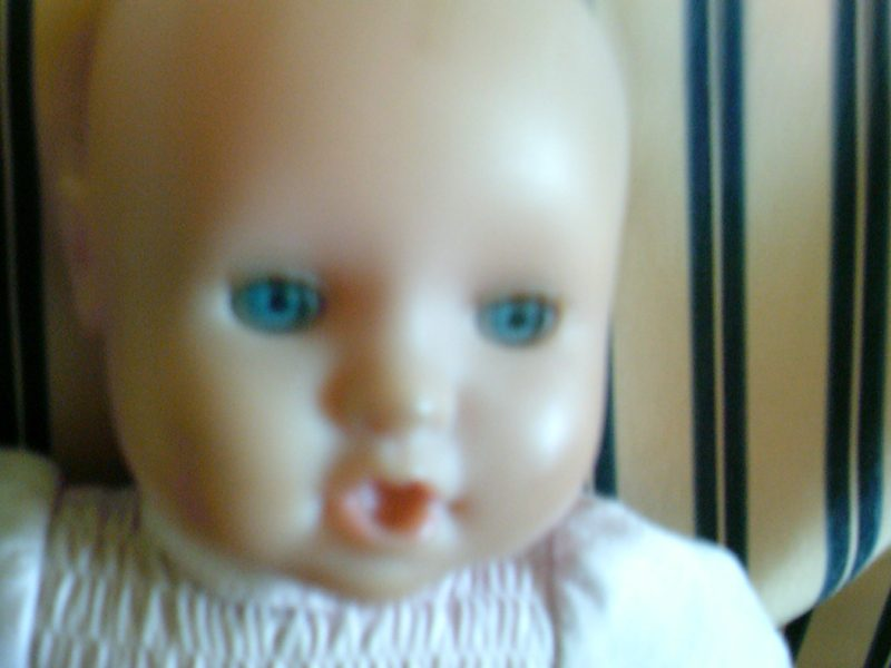 Image of a doll's head